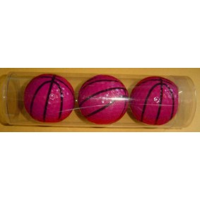 Golfaccessoires - Golfballen -  kopen - 3 golfballen basketbal