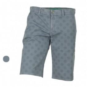 Golfkleding heren - kopen - Alberto Earny Short Water Repellent Dots