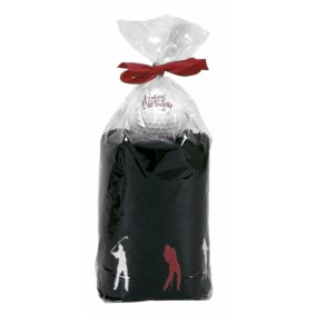 Golf verjaardagscadeaus - Golfcadeaus - kopen - Caddy Towel giftset Happy Birthday golfswing