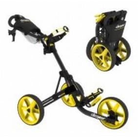 Golftassen - Golftrolleys - kopen - Clicgear 3.5 3-wiel Trolley Zwart Geel