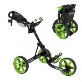 Golftassen - Golftrolleys - kopen - Clicgear 3.5 3-wiel Trolley Zwart Lime