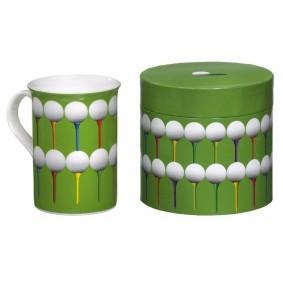 Golfaccessoires - Golfballen -  kopen - Design mok/beker golfballen tees
