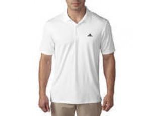 Golfkleding -  kopen - Adidas Golfpolo voor heren Adidas wit