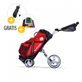 Golftassen - Golftrolleys - Top Golftrolleys - kopen - Alphard Duo DX 3-Wheel