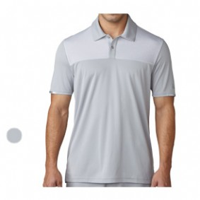 Golfkleding heren - kopen - Adidas Climachill Heather Block Competition Polo