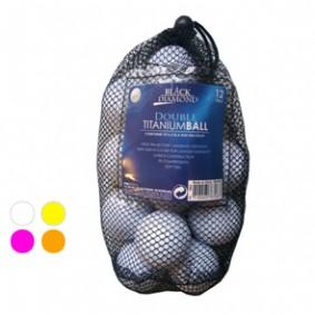 Golfaccessoires - Golfballen -  kopen - Black Diamond 12 Net