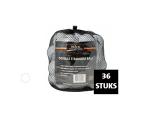 Golfaccessoires - Golfballen -  kopen - Black Diamond 36-net