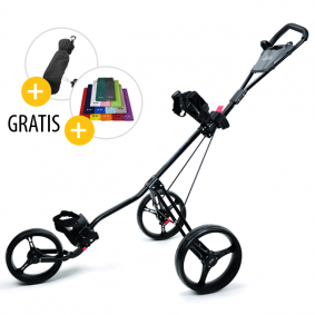 Golftassen - Golftrolleys - kopen - Black Diamond 3 Wheel