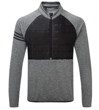Adidas Quilted 1/2 zip jacket thumbnail