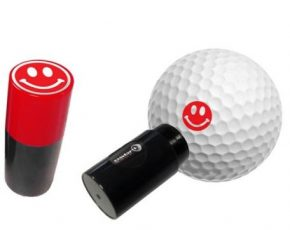 Asbri Ball Stamp Smiley Red