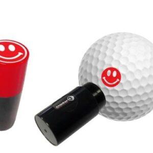 Asbri Ball Stamp Smiley Red